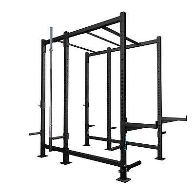 Power Rack Set 12 Kraft Fitness Station Home Gym Training Center Klimmzugstange