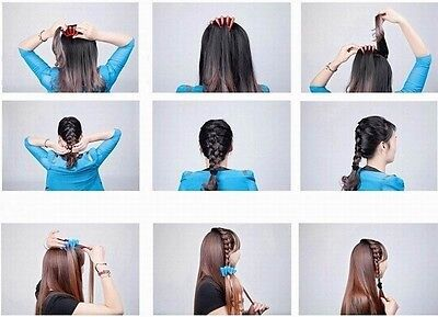 1PC Sponge Hair Braider New Wonder Holder Clip Twist Styling Braid Tool DIY