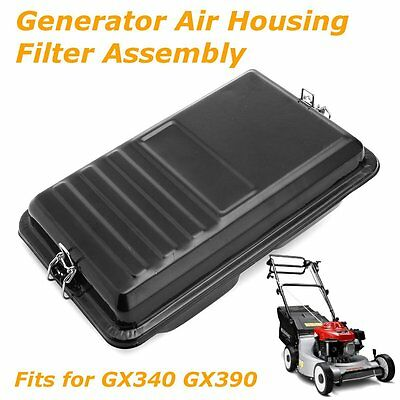 Metal Generator Air Housing & Filter for Honda GX340 11HP GX390 13HP Carburetor