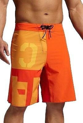 Reebok Crossfit Bonded Mens Training Shorts - Orange