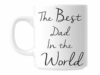Best Dad In The World Coffee Cup Mug Gift For Father