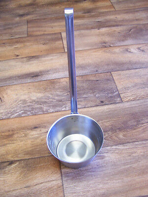 New Vollrath 58700 One quart,stainless steel, hooked handle dipper