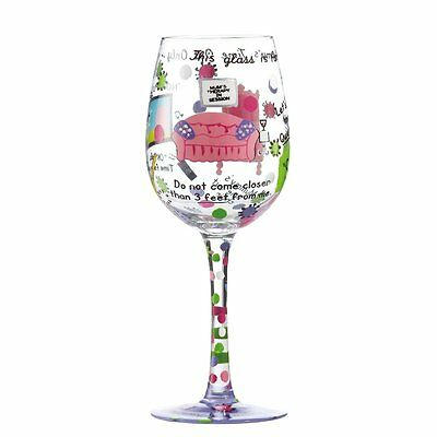 Lolita Wine Glass - Mummys Time Out New Boxed