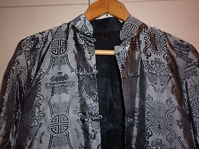Vintage Chinese Reverseable Cheongsam  Top Size 12  Excellent Condition