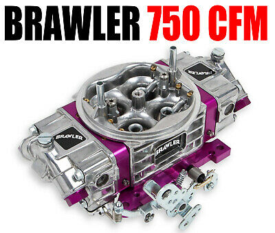 Brawler Quick Fuel br-67200 750 CFM Performance Race Carburetor Double Pumper