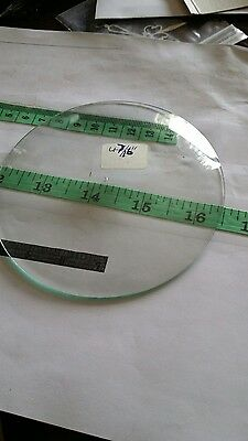 convex clock glass
