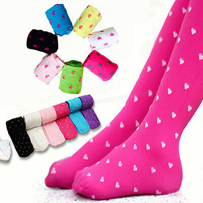 Cute Infant Kids Girls Toddler Pantyhose Tights Hosiery Socks Stocking Pants