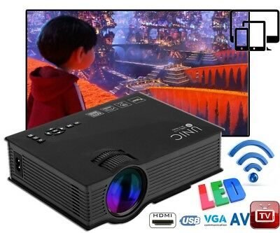 Hot! MINI PROYECTOR MULTIMEDIA LED/LCD HOME CINEMA PROJECTOR VGA HDMI SD USB AV