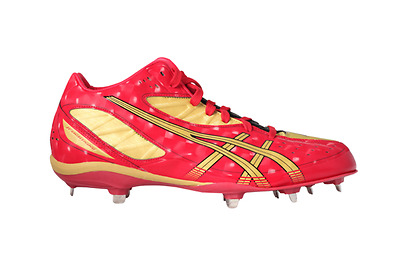 ASICS Baseball Spike Shoes SFSA042394 JP LIGHTNING2 Iron Red Color Authentic