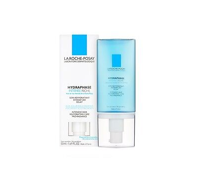 La Roche - Posay Hydraphase Intense Riche Dry Sensitive Skin 1.69 oz. New in Box