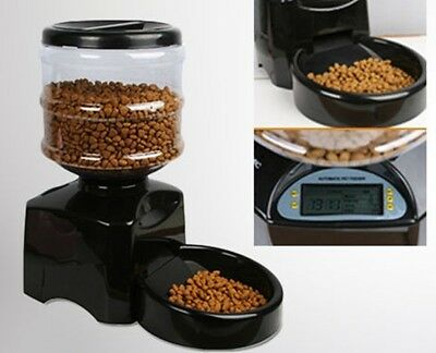 Automatic Cat Feeder Dog Feeder With Digital Display Timer For Feeding Animals