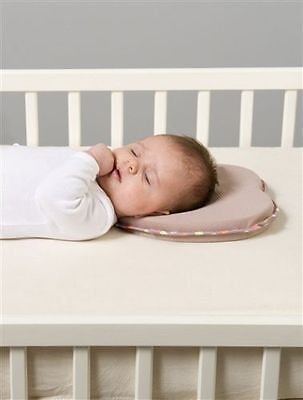 Support Prevent Anti Roll Baby Memory Foam Pillow Flat Head Neck Newborn GEO