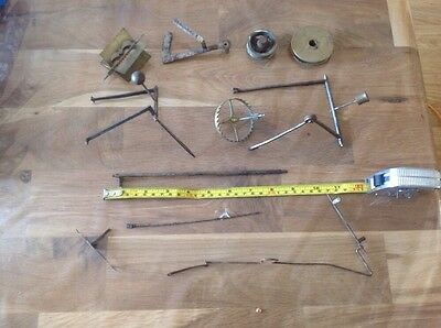 Antique Clock Parts For Large Clocks Ex Clockmakers Spare Parts Wheels