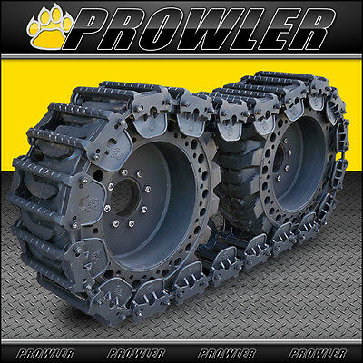 """12"""" Predator Steel Over Tire Tracks for CAT Skid Steers - Fit 12x16.5 Tires"""