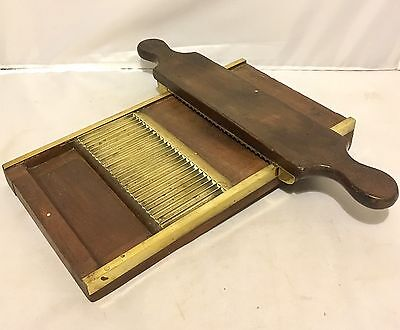 Antique 19th Century Apothecary / Chemist Mahogany Pill Press Roller and Board