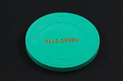 PAULSON COLOR SAMPLE Casino Chip 'Pale Green'