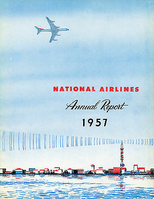 National Airlines 1957 Annual Report