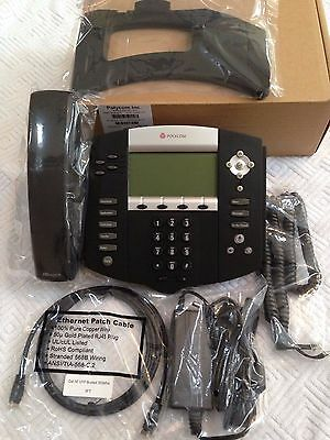 Polycom Soundpoint IP 550 HD  Phone 2200-12550-001 with Power