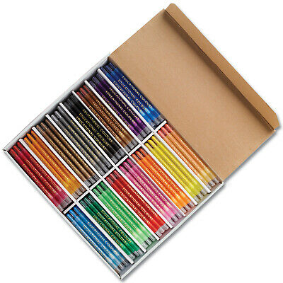 Ec Crayons Twist It Assorted Colours - 240 Pack