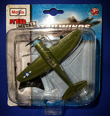 P-47D Thunderbolt - Diecast Model Plane by Maisto, Fresh Metal, Tailwinds.