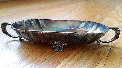Antique Small Silver-Plated Bowl - Wallace Bros Silver Co