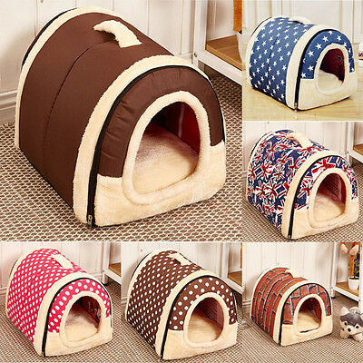 Soft&Warm Pet Dog Cat Bed House Kennel Mat Pad Washable Puppy HOT Cushion S/M/L
