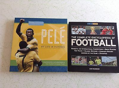 2 SOCCER BOOKS Bulk Lot! PELE