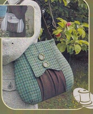 PATTERN - The Poacher's Bag - vintage style sewing PATTERN - Charlie's Aunt