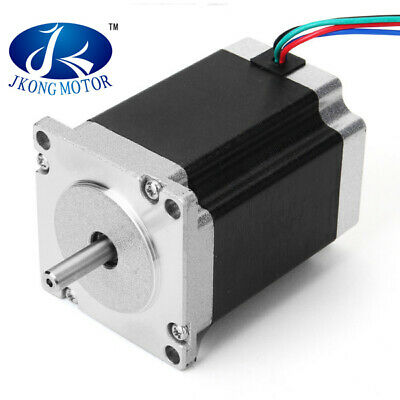 JKM NEMA23 57mm Two Phase Hybrid Stepper Motor 0.9 Degree 76mm  2.8A