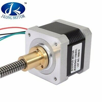 JKM NEMA17 42mm Two Phase Hybrid Linear Stepper Motor 40mm Length For CNC Router