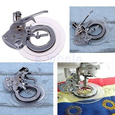 Flower Stitch Foot fit Janome Brother Singer Toyota Sewing Machine Low Shank EW