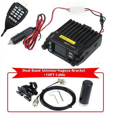 KT-8900D Dual Band Car Mobile Radio Transceiver w/Antenna+Nagoya Mount+5M Cable