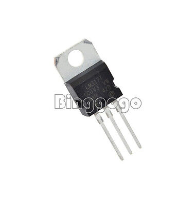 5PCS LM317T Spannungsregler +1,2...37V 1,5A TO220