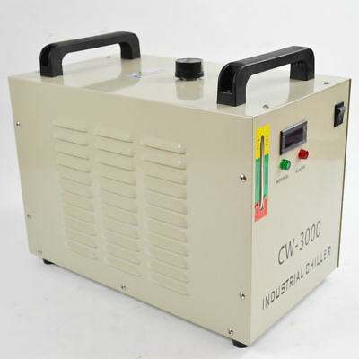 220V Industrial Thermolysis Water Chiller for CNC 60/80W CO2 Glass Tube CW-3000A