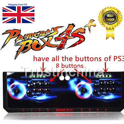 2017 Double Joystick Game Console Metal Pandora Box 4S 815 Games in 1 HOT!