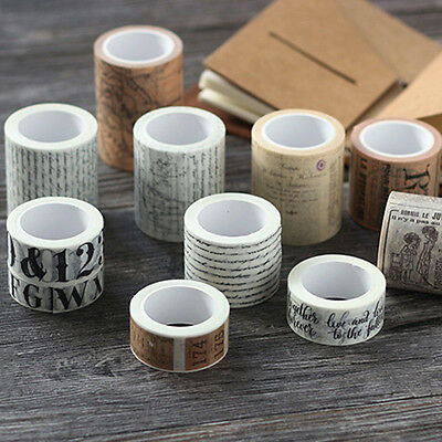 Vintage Washi Tape Decor Paper Masking Tape Diy Adhesive Scrapbook Sticker Saucy