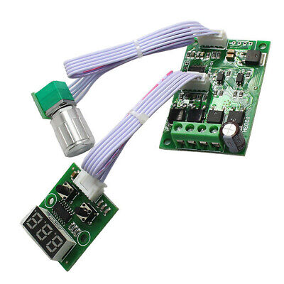 6V-24V 3A Speed Control CW CCW Motor Driver Time Controller