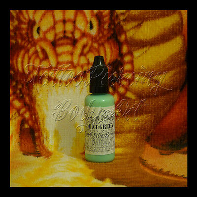 Encre De Tatouage Tattoo DHARP© : MINT GREEN - 35 ML BLEU Qualité Extra Premium