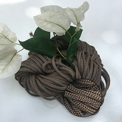 COCOA - 30m Colourful Braided Nylon Rope - Boho/Chic/Wall/Pot/Hanging
