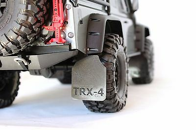 TRX-4 Mud Flaps Guards Front and Rear (4) for TRX-4 Traxxas by murat-rc