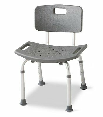 Medline Guardian Bath Bench with Back Other Accessibility Fixtures Mobility