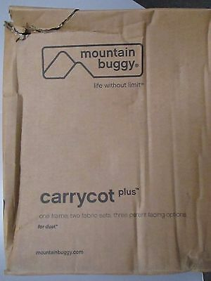 Mountain Buggy Carrycot Plus For Duet - Black - Ccpd-V3-5 - Nib - Rc 4638