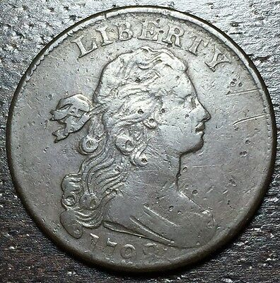 1798 Draped Bust Large Cent --  MAKE US AN OFFER!  #Y8567