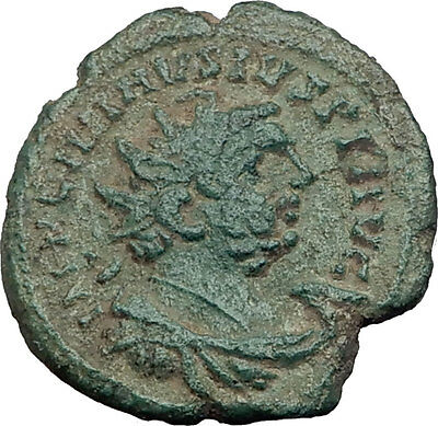CARAUSIUS 287AD Londinium LONDON Mint Authentic Ancient Roman Coin PAX i64016