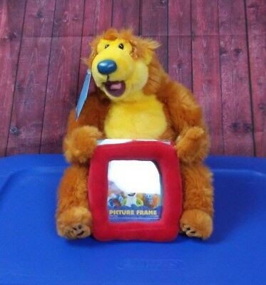Bear In The Big Blue House NWT With Picture Frame Plush