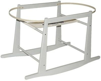 Jolly Jumper Gray Rocking Moses Basket Stand