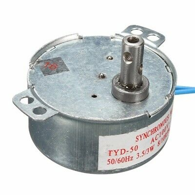 110V AC 8/10RPM CW Synchronous Motor