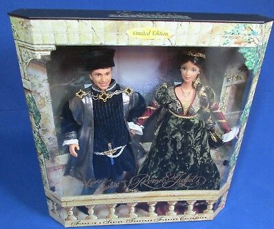 Romeo & Juliet – Barbie and Ken Doll Giftset – Limited Edition – NRFB