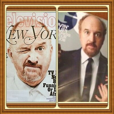 Lot X3 New LOUIS CK Magazines 2016 2015 York GQ Rolling Stone #1263