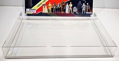 1 Box Protector for STAR WARS 40TH ANNIVERSARY LEGACY PACK Clear Display Case